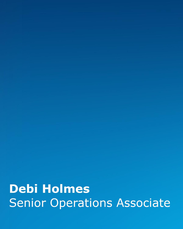 Debi Holmes